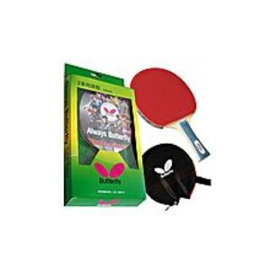 ButterflyButterfly 201 Table Tennis Racket Set - 1 Ping Pong Paddle - 1 Ping Pong Paddle Case - Gift Box