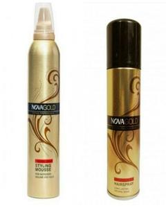 Pack Of 2 - Hair Styling Mousse - 300Ml & Hair Spray Natural Hold - 200Ml