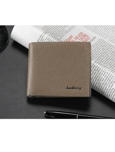 Khaki Original Leather Wallet for Men