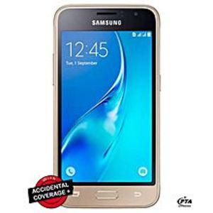 """SamsungGalaxy J1 J120F - 4.5"""" - 8GB - 1GB RAM - 5MP Camera - Gold"""