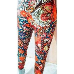 Stretchable Printed Tight For Her