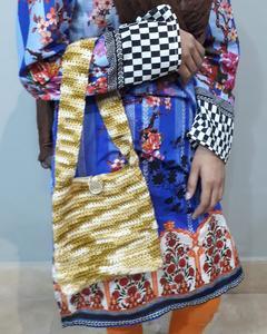 Ladies Hand Bags Hand Crochet - Medium