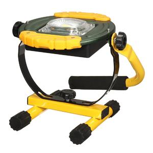 30W COB LED Flood Spot light Camping Portable Outdoor Flashing Lamp Rechargeable Green