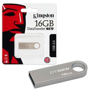 Kingston 16GB USB Card 3.0 Data Traveler SE9 G2 (Metal) 100MB/s read 15MB/s write