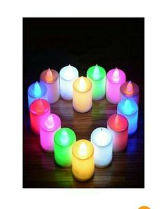 Pack of 5 led bulb lighting candles