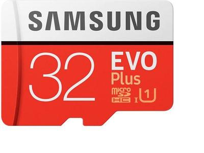 32 GB - Micro SD Card - Red