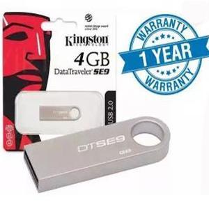 Original Kingston 4GB USB Flash Drive High Speed Travel Metal Body with One Year Warranty