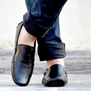 Shoes For Mens leather Shoes loafer Shoes moccasins Casual Shoes Black
