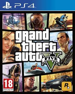 Grand Theft Auto V for PS4 - GTA 5 - PlayStation 4 - Original Video Game Disk