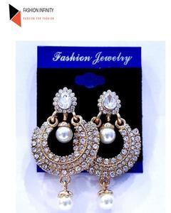 Golden Trendy Earring For Women