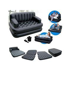 As Seen On Tv 5 In 1 Sofa Bed - Black