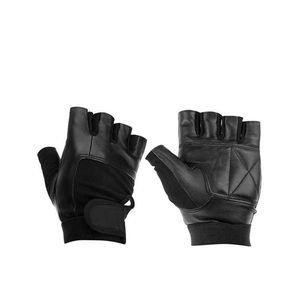 C.A Spandax Gym Wrist Wrap Lifting Gloves - Black