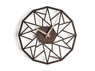 Antique Descent Wooden Wall Clock For Lounge (102)