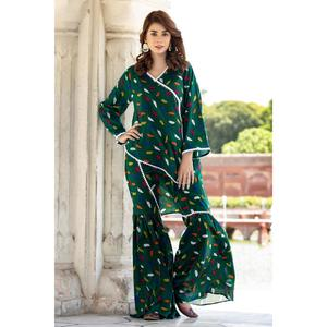 Sitara Studio Sidra Collection  Multicolor Cotton Lawn Unstitched - 2PCS  Suit For Women