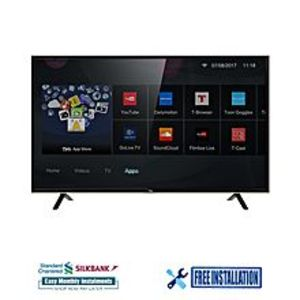 "TCL S62 - 40"" Smart Full HD LED TV - Black - With Free Neymar Signature Football"