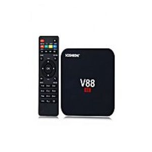 gadgets galleria Android Smart TV Box V88 Piano Quad Core 4GB+16GB