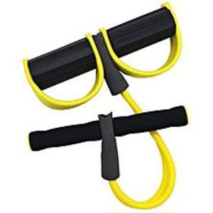 Sports CenterAb Pull Exerciser Body Trimmer - Black & Yellow