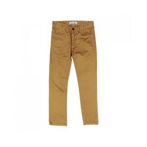 Little Me Suitblanco Straight Fit Premium Cotton Khakhi Brown Chino