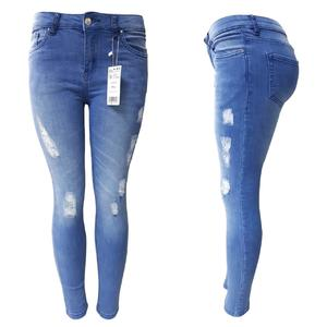 Ladies Jeans Denim in Stretchable Fabric by HA Garments.