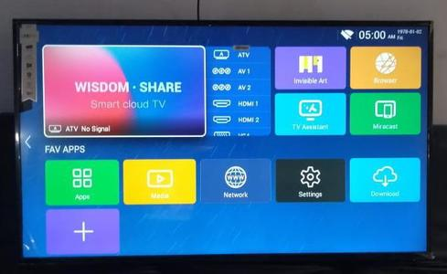 Samsung32 Inc. Box Led TV Smart Double USB And Double HDMI Ports