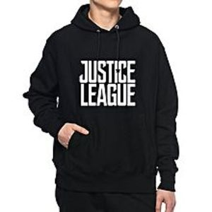 Alicia Fashion Black Justice League Hoodie For Men - H0301-S