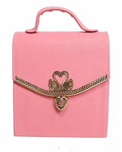 New Arrival Cross Body Ladies Hand Bag Pink