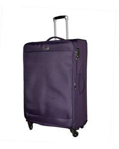 Gallen - 4 Wheels Soft Trolley 33 Inch - Purple