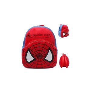 Spiderman Plush Backpack For Kindergarden Nursery Kids