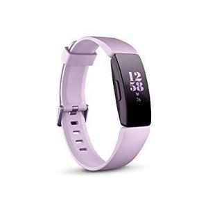 Fitbit Inspire HR Smart Fitness Heart Rate + Activity Tracker + Smart Watches -Lilac