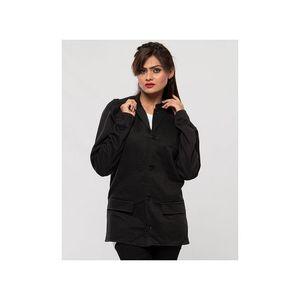Tsquare Black Fleece Casual Coat For Men - black - M