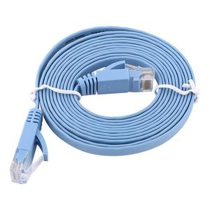 2meters RJ45 CAT6 Ethernet Network Flat LAN Cable UTP Patch Router Cables 1000M