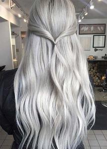 Leilu Silver Hair Color Spray fo unisex 120ML
