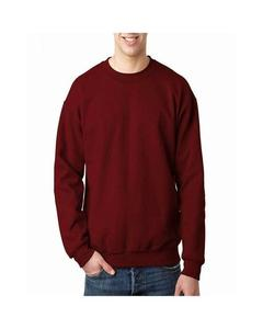 Maroon Fleece Sweatshirt For Men