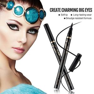 Silky soft eye liner quick dry eyeliner  waterproof pen waterproof eyeliner pen non staining