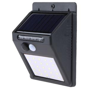 Solar 25LEDs Motion Sensor Yard Wall Light Outdoor Garden Security Lamp