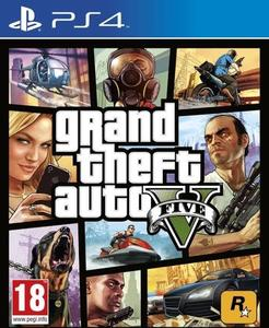 GrandTheftAuto V for PS4 - GTA 5 - PlayStation 4 - Original Video Game Disk