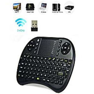 TechDukan Mini Wireless Keyboard with Touchpad (Mouse) - RF 500