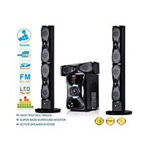 Sayona 3.1 Channel Speaker Subwoofer With Bluetooth & Remote Control - Black