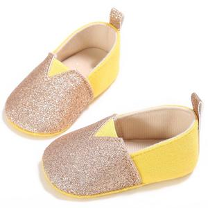 Lovely Baby Toddler Shoes First Walkers Shoes Soft Sole Fashion Shining Design