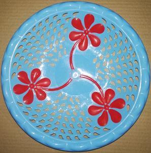 12 Roti Plate Chabbi Chapati Tray Pure Plastic Roti Basket