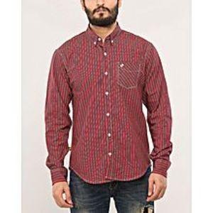 DenizenMulticolor Checkered Cotton Button Down Shirt - Flash Sale Exclusive Online Price