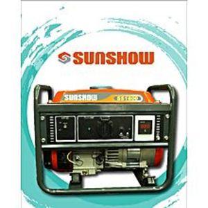 SUNSHOWSUNSHOW GASOLINE GENERATOR SS1800 1.0KVA - 100%COPPER - ORANGE