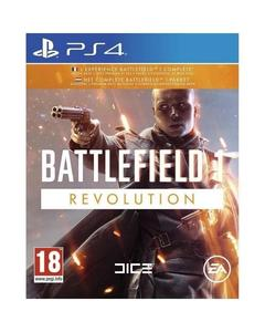 Sony Playstation 4 Dvd Battlefield 1 Revolution Ps4 Game