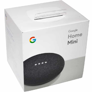 Google Home Mini Smart Speaker with Google Assistant Charcoal