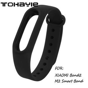 TOHAYIE M-1 Original Silicone Wrist Watch Strap for M2 Smart Bracelet Xiaomi Mi Band 2