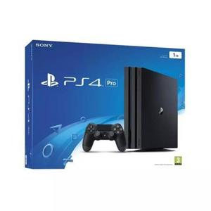Sony Playstation 4 Pro - 1 TB-Black