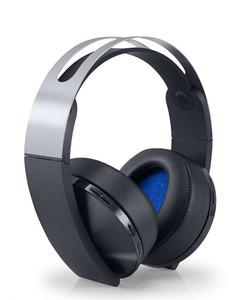 Platinum Wireless Gaming Headset - Playstation 4 - Black