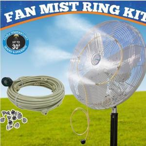 Fan mist ring kit