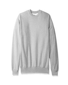 Grey Winter Sweatshirt For Men