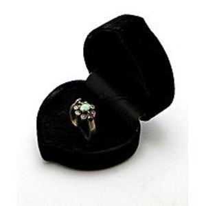 Gilgit BazarEmerald Sapphire and Ruby Stone Silver Ring GB(5)4400